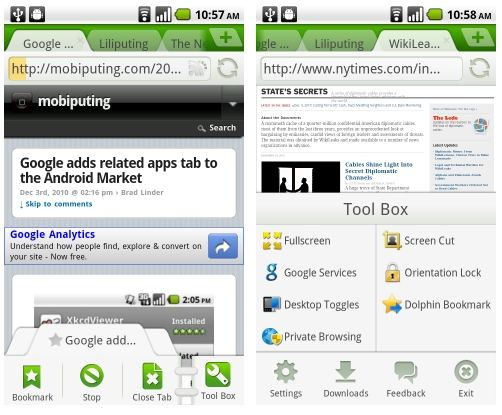 Android Apps: Dolphin Browser For Computer, Android Free ...