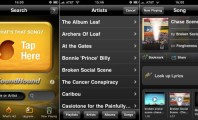 Five Excellent Radio Apps for Android : Soundhound Screenshots