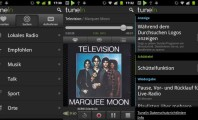 Five Excellent Radio Apps for Android: Tunein Screenshots