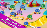 With Candy Crush Saga, not only you can experience joyful playing time, you can also enjoy the great images : Candy Crush Saga Apps
