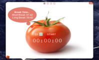 The Ease of Allocating Your Schedule Using Pomodoro-Timer While Working On Your Computer : Pomodoro Timer