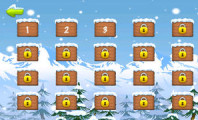 Playing Blue Lightnings Sled Race : Apps Details Blue Lightnings Sled Race   Downhill Racing Game In The Snowy Mountain