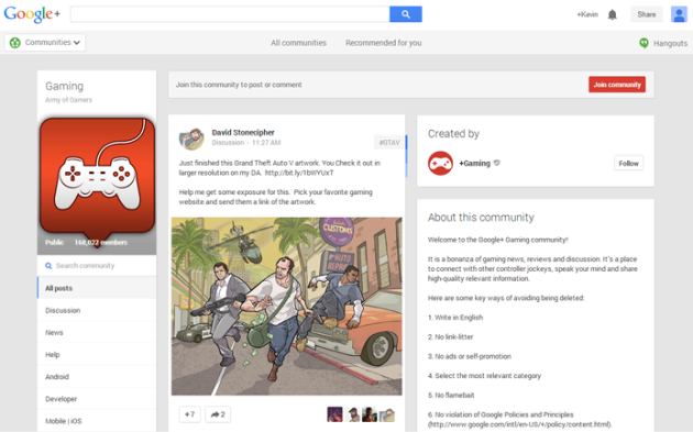 download free apps Google+ for iphone