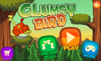 Clumsy Bird for Flapping Game on Android Smartphone : Clumsy Bird