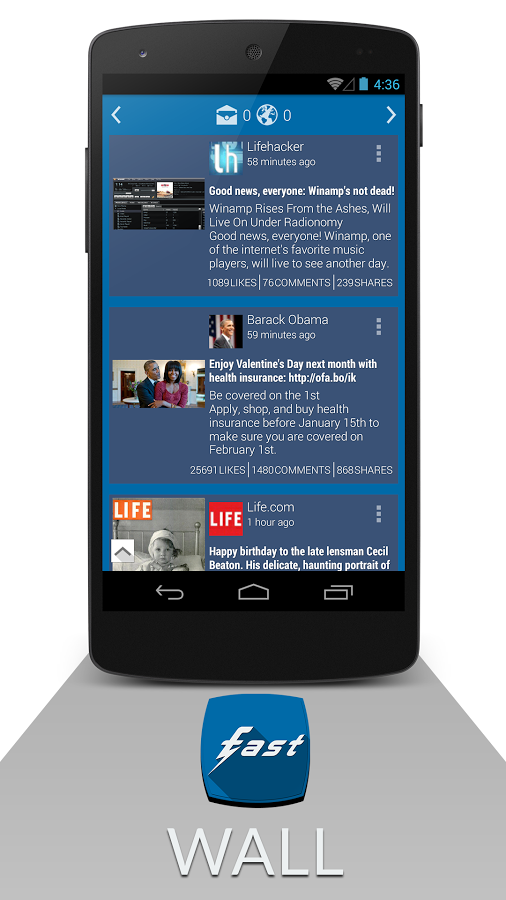 Top alternatives to Facebook app for Android 1