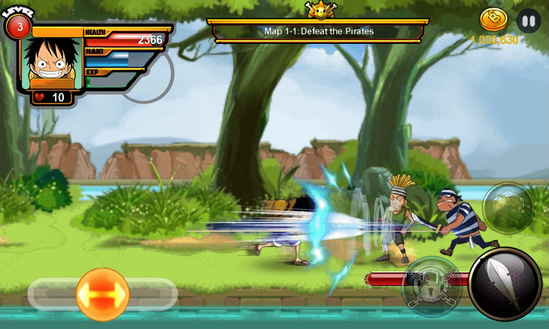 one piece adventure android game free