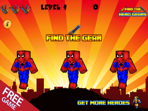 download he Pixel Superhero Gears - The Popular Hero Hunter Weapons in Minecraft Style ( Unofficial )