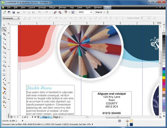 how to change background in corel photo paint x6