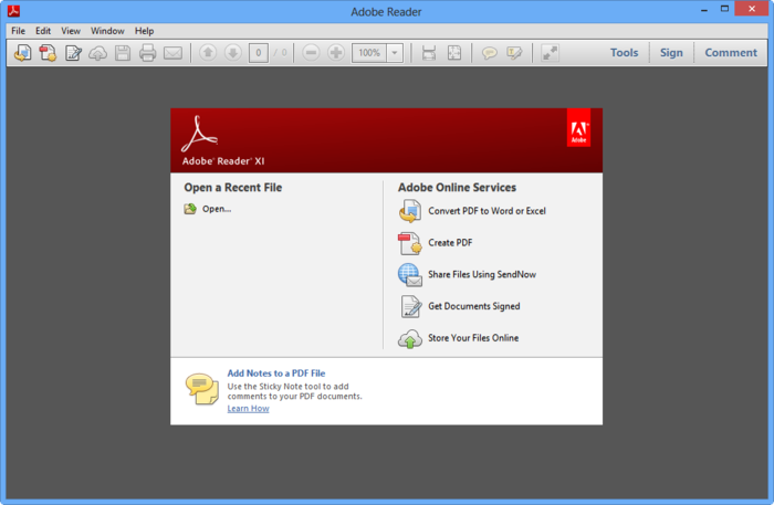 Adobe acrobat reader free download
