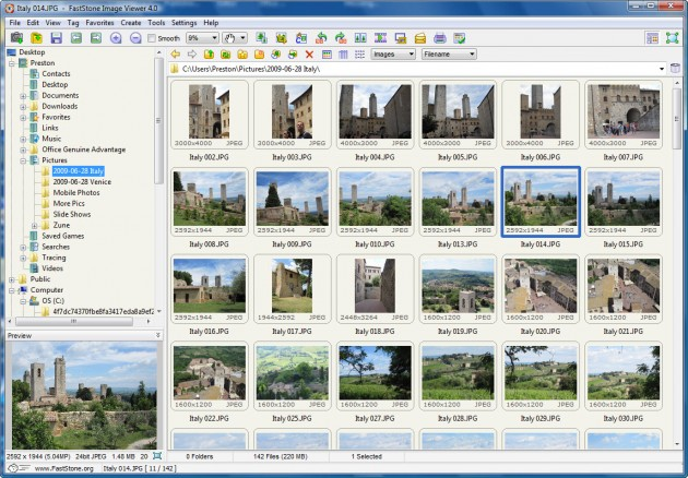 Faststone Image Viewer2
