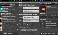 Five Excellent Radio Apps for Android : Digitally Imported Radio Screen
