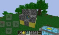 Minecraft: PE with Mushroom Farming, Cubic Art and Trippy Men: Minecraft PE Nether Reactor