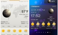5 Astonishing Weather Widgets : Android Weather Widget