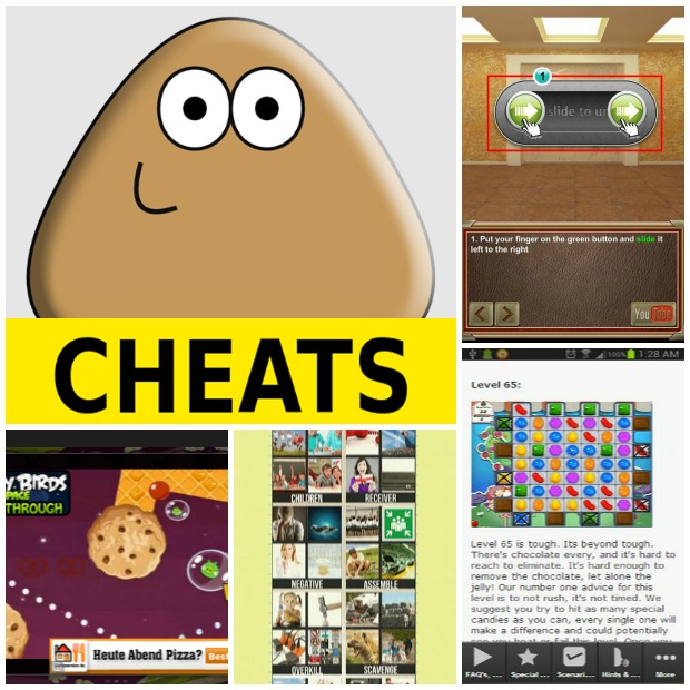 Android Apps: 5 Most Favorite Free Applications Cheats For Android