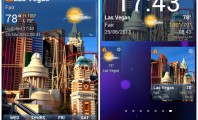 5 Astonishing Weather Widgets : Yahoo Weather Widget