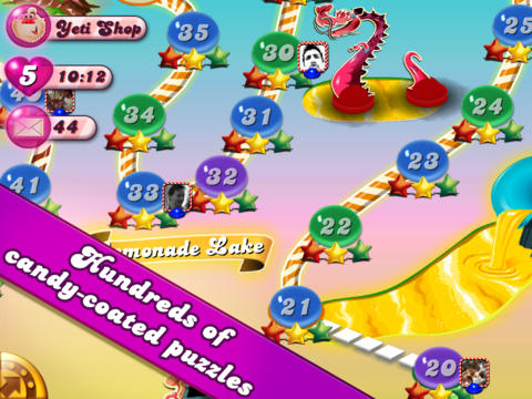 Candy Crush Saga apps