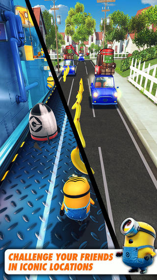 Download Games Apps Despicable Me Minion Rush for Iphone