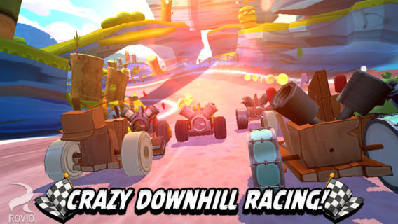 Iphone Apps: Angry Birds Go! The Cute Race Challenge Ever