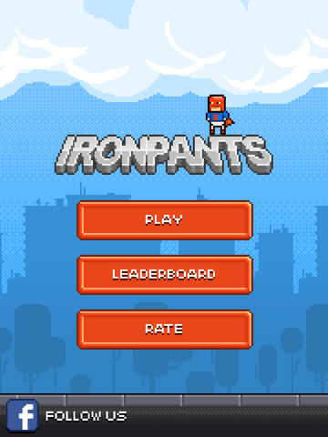 Ironpants games for iphone