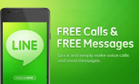 Connecting For Free With Your Friends Using Line : Line