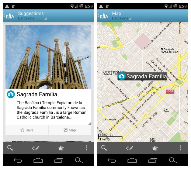 With Triposo Travel Guides you'll never need to miss a major attraction again
