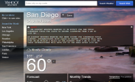 Make Yahoo Weather as Your Default Weather Checker : Yahoo Weather