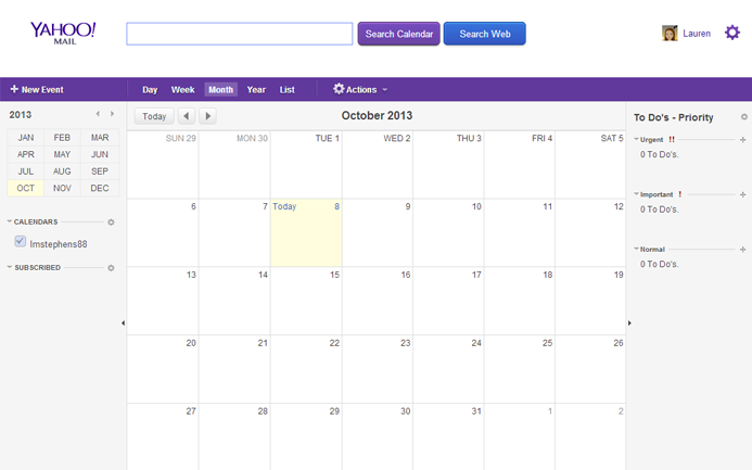 yahoo calendar iphone iphone apps the benefit from using yahoo calendar app to 13330