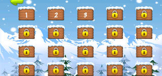 Playing Blue Lightnings Sled Race: Apps Details Blue Lightnings Sled Race   Downhill Racing Game In The Snowy Mountain