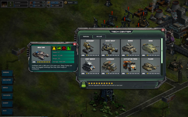 details games War Commander for iphone