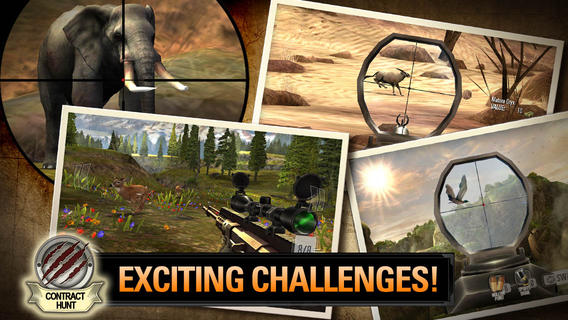 download game Deer Hunter 2014 for iphone android