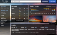 Make Yahoo Weather as Your Default Weather Checker: Free Download Yahoo Weather