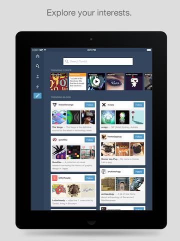 iphone tablet Tumblr download free apk