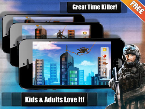 Apps Details Army Commando Rope Hero - Swing and Fly Elite Soldier Escape Free
