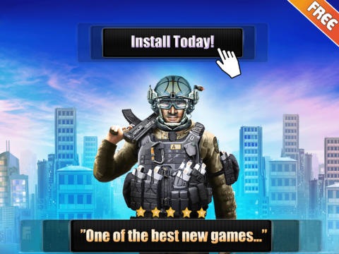 Army Commando Rope Hero - Swing and Fly Elite Soldier Escape Free for Iphone