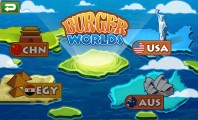 Burger Worlds with Various Features and Levels: Burger Worlds