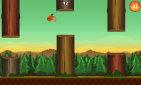 Clumsy Bird for Flapping Game on Android Smartphone : Clumsy Bird 2