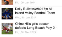 Prep Daily Bulletin Sports App : Daily Bulletin Prep Sports