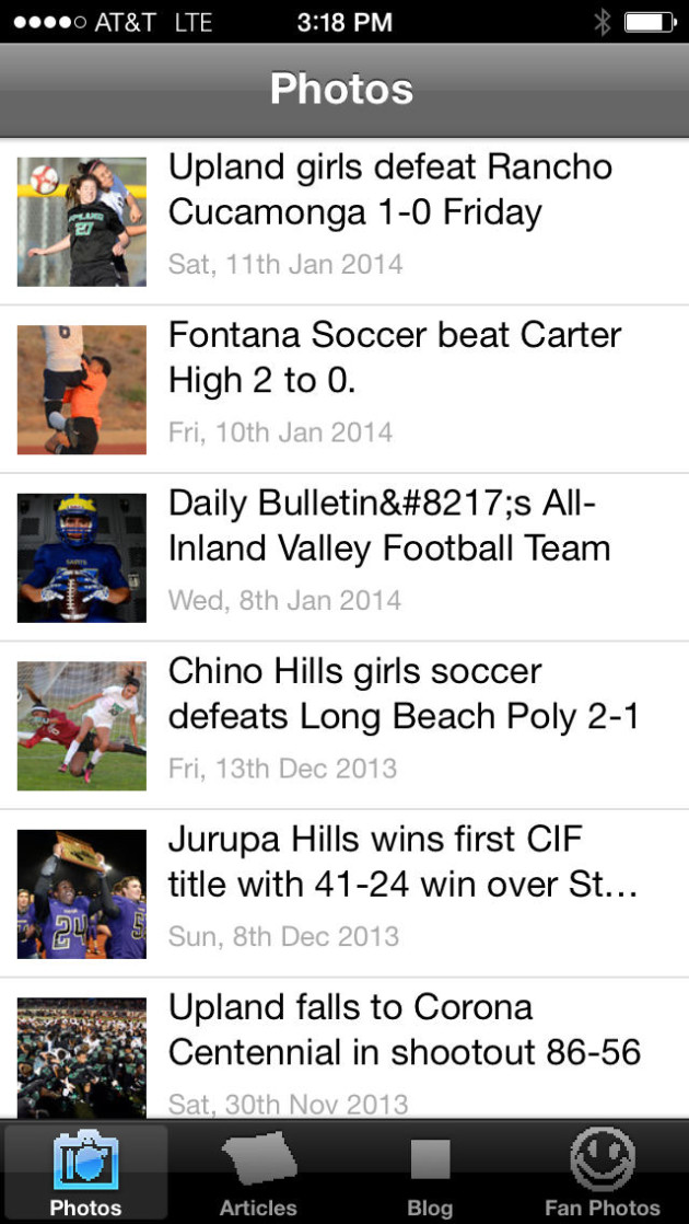 Daily Bulletin Prep Sports
