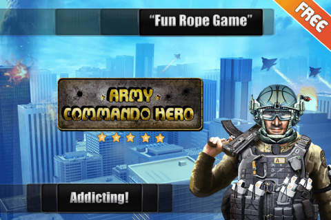 Download Army Commando Rope Hero - Swing and Fly Elite Soldier Escape Free