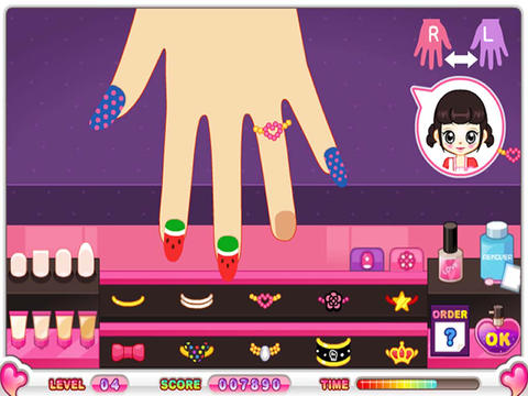 Free download  Baby Nail Manicure Makeover & Decorate