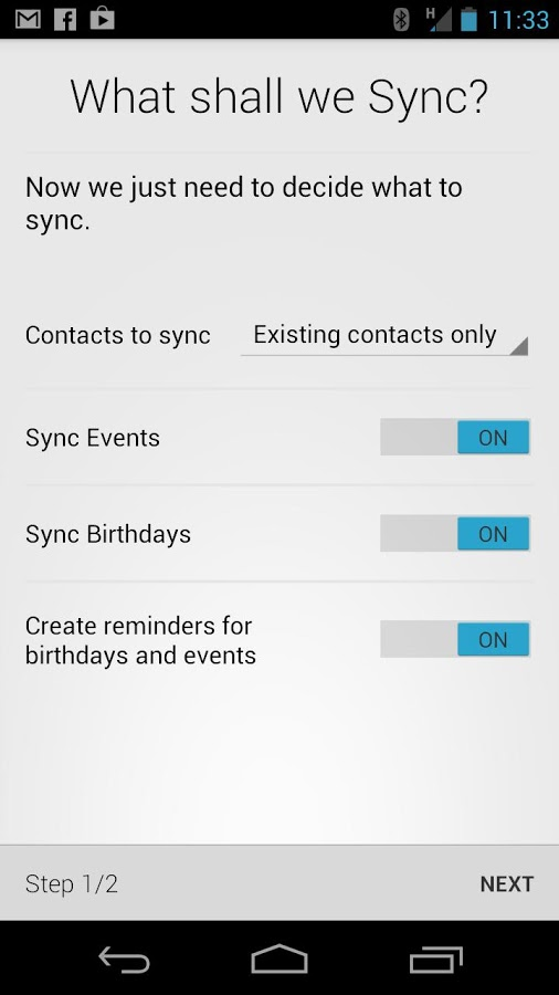 Hax Sync Application