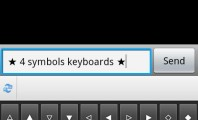 Virtual Symbols Keyboard and Text Arts on Smartphone Devices : Keyboard And Text Arts 3