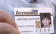 Project Engineer: Now Aston Kutcher is working for Lenovo : Lenovo Ashton Kuthcer Name Tag