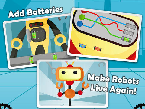Secret Robot Lab - Free Game download apps