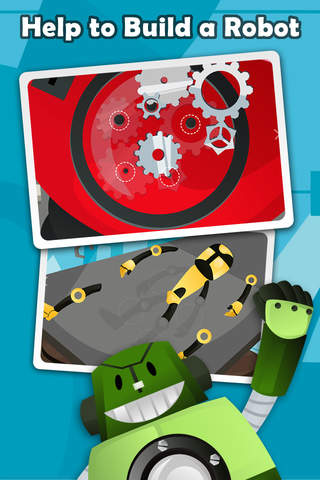 Secret Robot Lab - Free Game