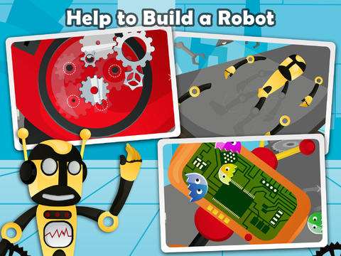 download apps Secret Robot Lab - Free Game for iphone ipad