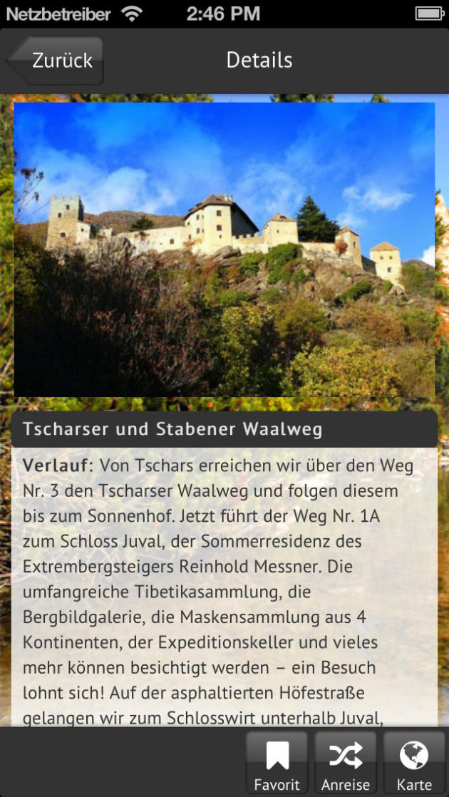 download apps Wandern Vilsalpsee Tannheim