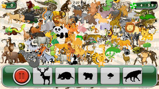 download game Animals of the Savana - Amazing Hidden Objects for Kids