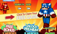 Exciting Game With Super Heroes Pixel Gears : Free Download He Pixel Superhero Gears   The Popular Hero Hunter Weapons In Minecraft Style ( Unofficial )