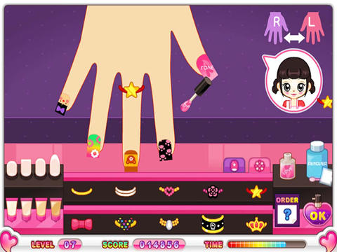 games  Baby Nail Manicure Makeover & Decorate for kids ipad iphone
